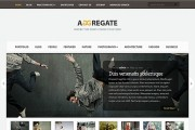 Download Aggregate WordPress Theme Free