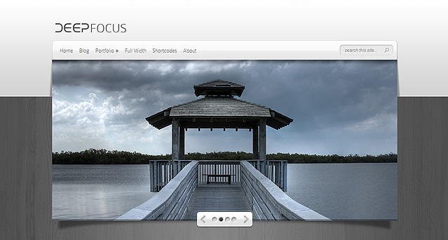 Download DeepFocus Photography WordPress Theme Free